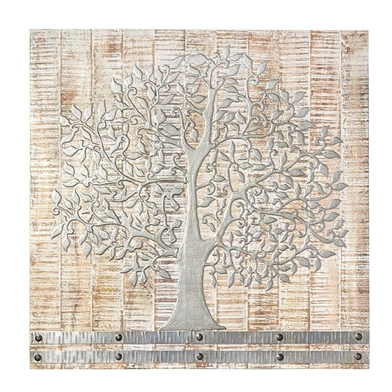 Tree Of Life Wall Art Wood Popular Silver Arbor Contemporary For World Market Wall Art (Image 18 of 25)