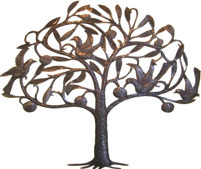 Tree Of Life Wall Decor (8 Images) – Mesas Home Decoration Throughout Metal Wall Art Trees (View 22 of 25)