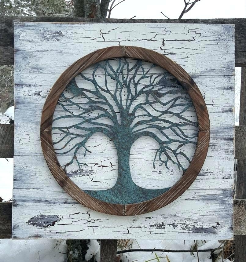 Tree Of Life Wall Decor Wall Tree Of Life Wall Art Wall Decoration With Regard To Tree Of Life Wall Art (View 7 of 10)