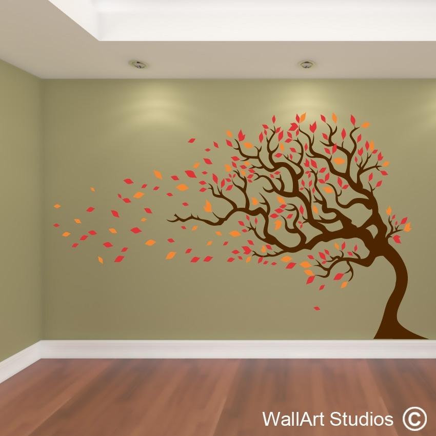 Tree Wall Art   Nature Wall Art Stickers   Wall Art Studios Uk Inside Wall Tree Art (Image 17 of 20)