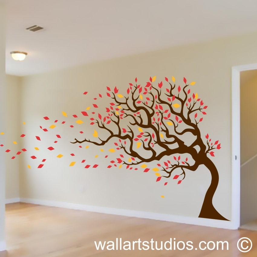 Trees Wall Art Decals   Wall Art In South Africa   Wallart Studios In Wall Art (Image 8 of 10)