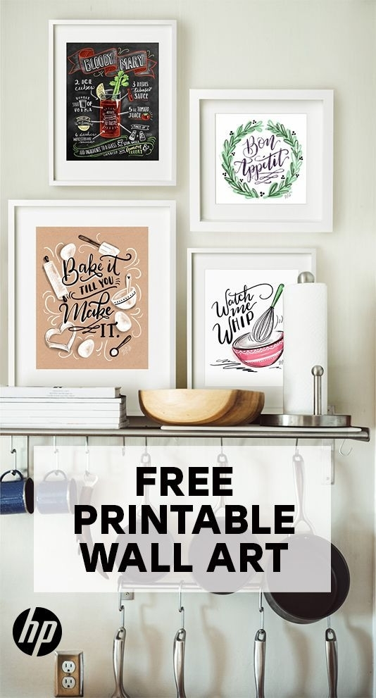 Tremendous Kitchen Wall Art For Best 25 Ideas On Pinterest In Wall Art For Kitchen (Image 17 of 20)
