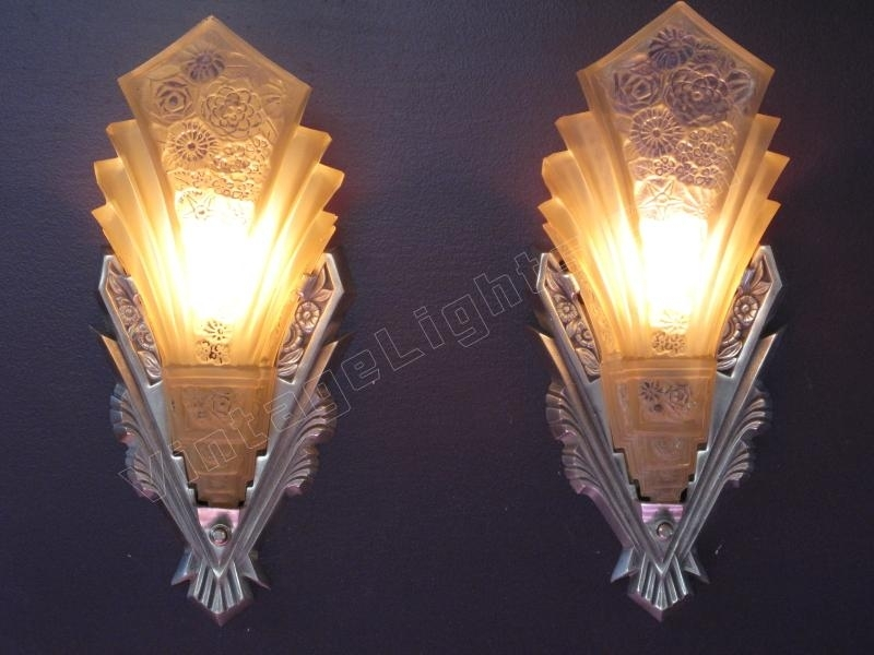 Trend Art Deco Wall Sconce 67 In Modern Sofa Inspiration With Art Regarding Art Deco Wall Sconces (View 18 of 25)
