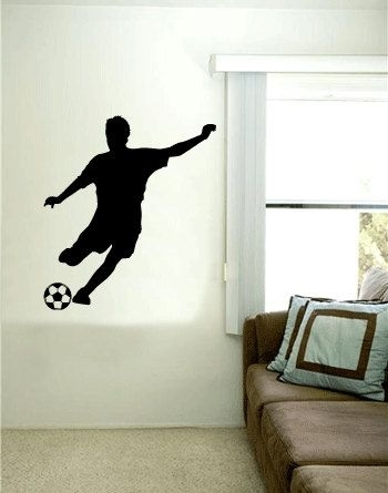 Trendy Ideas Soccer Wall Art Remodel Decal With Personalized Name Inside Soccer Wall Art (View 18 of 25)