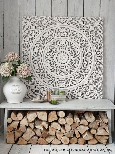 Trendy Ideas Wood Medallion Wall Decor Large Best 25 Metal On With Wood Medallion Wall Art (View 23 of 25)