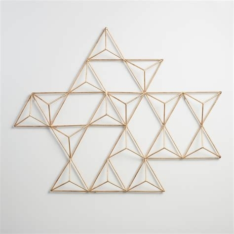 Triangular Wall Decor – Littlethaimidtown Throughout World Market Wall Art (Image 19 of 25)