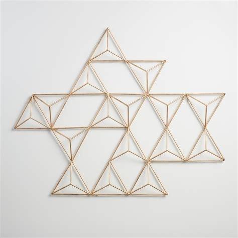 Triangular Wall Decor – Littlethaimidtown Throughout World Market Wall Art (Image 19 of 25)