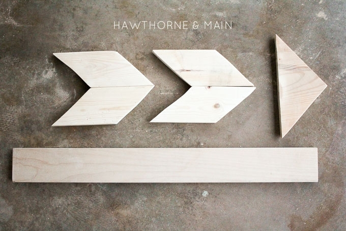 Tribal Arrow Wall Art – Hawthorne And Main With Arrow Wall Art (Image 17 of 20)