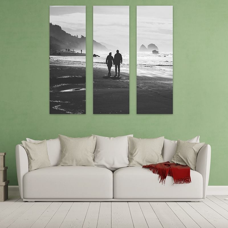 Triptych Canvas: Customised 3 Piece Canvas Art With Triptych Wall Art (Image 15 of 25)
