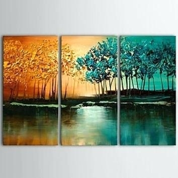 Triptych Wall Art 3 Piece Canvas Prints Burlington Mall With Regard To Triptych Wall Art (Image 20 of 25)