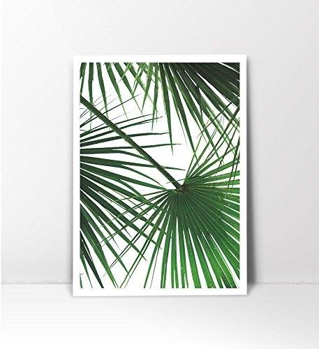 Tropical Leaf Print, Palm Tree Print, Palm Leaf Print, Palm Tree Art In Palm Tree Wall Art (Image 22 of 25)