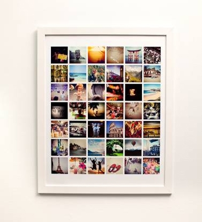 Turn Your Instagram Photos Into Personalised Wall Art | Meld For Instagram Wall Art (View 3 of 20)