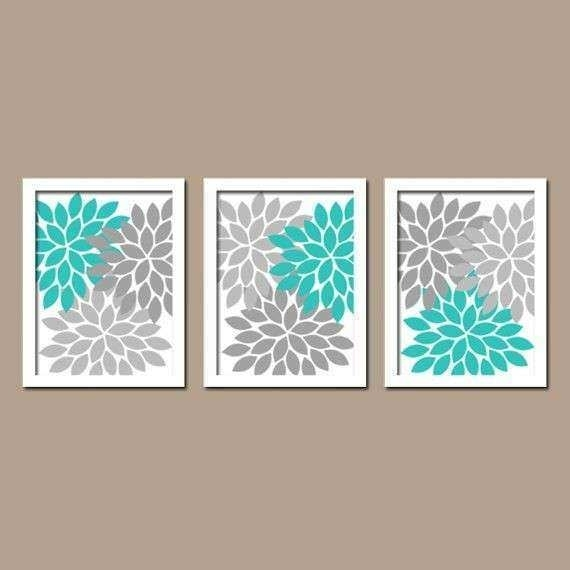 Turquoise And Gray Wall Art | Sevenstonesinc In Turquoise Wall Art (Image 10 of 20)