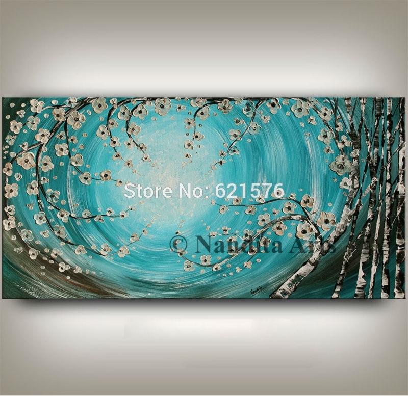 Turquoise Wall Art – Talentneeds – Intended For Turquoise Wall Art (Image 14 of 20)