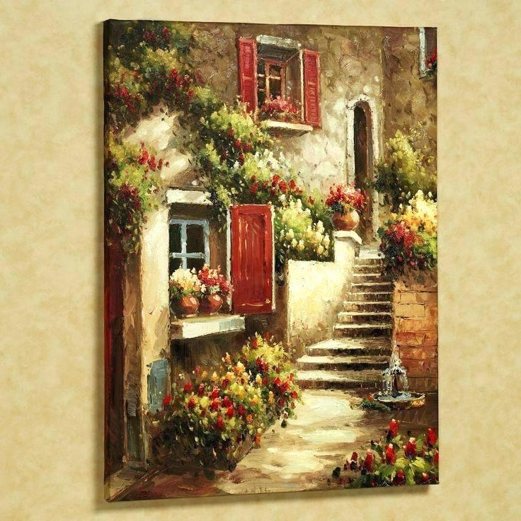Tuscan Framed Wall Art Impressing Wall Art At Y Framed Canvas Throughout Tuscan Wall Art (Image 12 of 25)