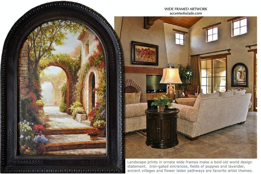 Tuscan Wall Decor Brings Color, Softness And Dramatic Mediterranean In Tuscan Wall Art (Image 19 of 25)