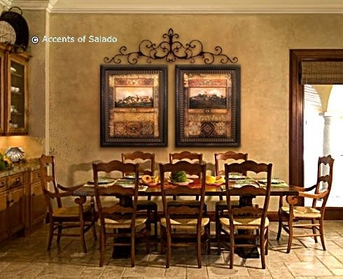 Tuscan Wall Decorations | Traditional Old World Art For A Intended For Tuscan Wall Art (View 20 of 25)