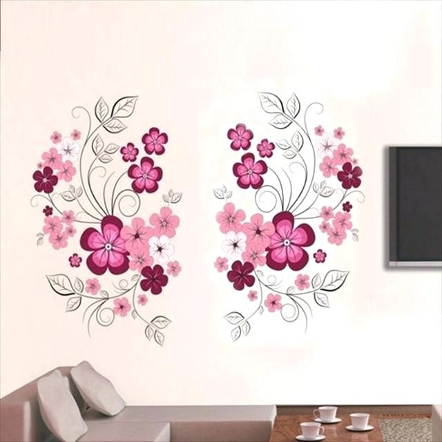 Umbra Wall Decor Wall Decor Flowers Flower Wall Art Adorable Flower With Flower Wall Art (View 8 of 20)