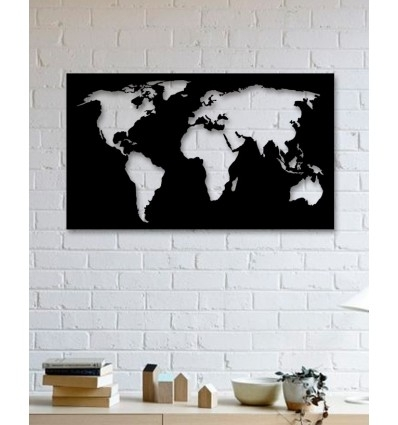 Unique Custom Designed Wall Decoration Product,world Map Metal Wall Art for World Map For Wall Art