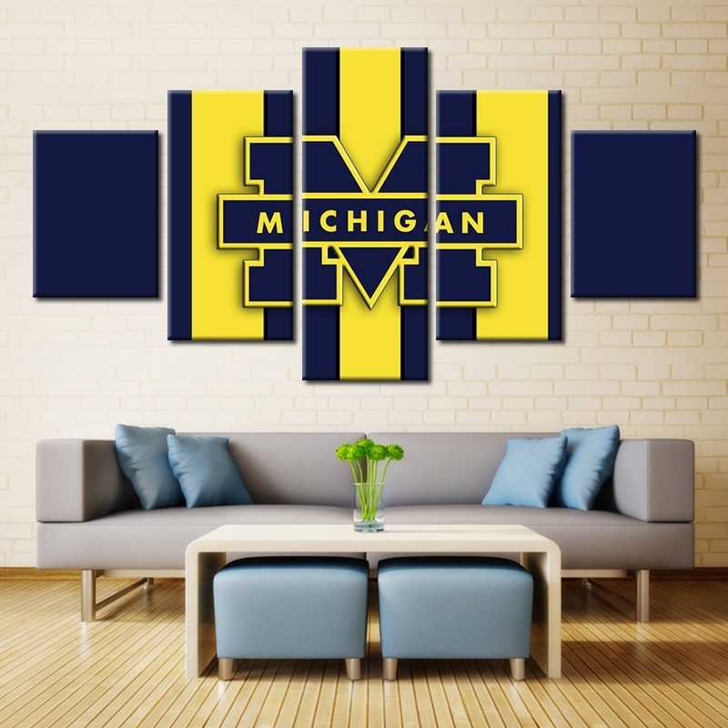 University Of Michigan Wall Decor – Home Decorating Ideas Inside Michigan Wall Art (Photo 17 of 25)