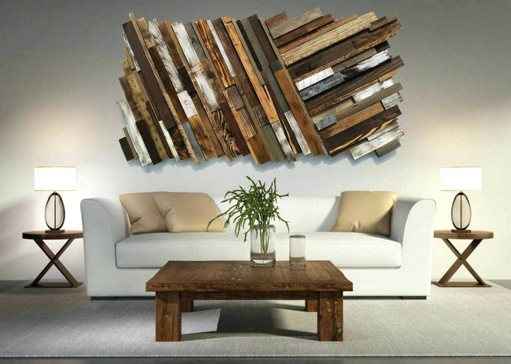 Unusual Wall Art Fine Decoration Unique Wall Art Pallet Ideas And Inside Unusual Wall Art (Image 7 of 20)