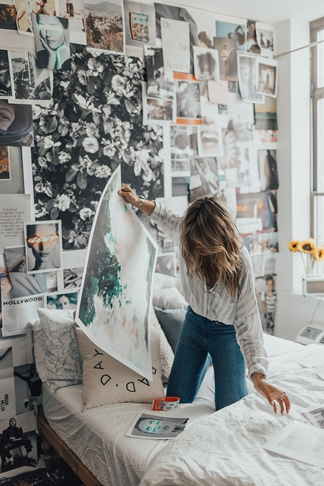 Uo Diy: Arranging Wall Art With Tessa Barton - Urban Outfitters - Blog throughout Urban Outfitters Wall Art