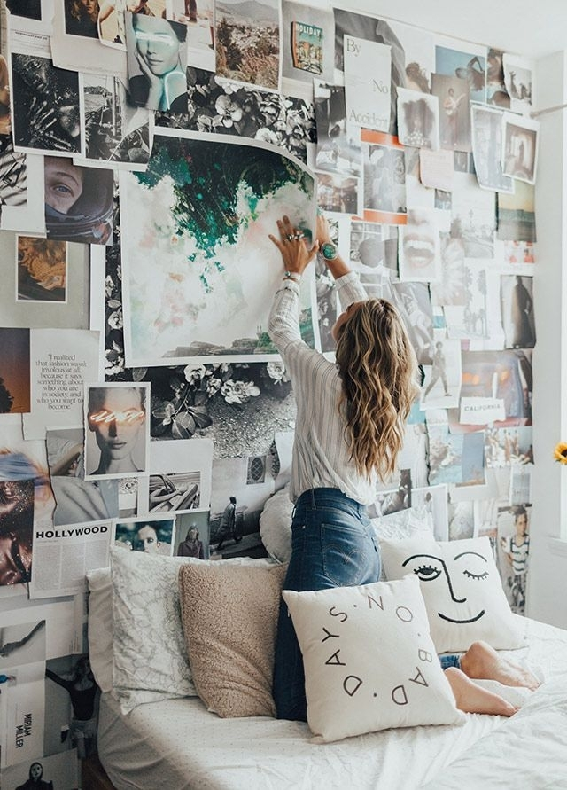 Uo Diy: Arranging Wall Art With Tessa Barton – Urban Outfitters Inside Urban Outfitters Wall Art (View 22 of 25)