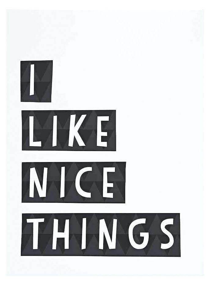 Urban Outfitters Wall Art I Like Nice Things From Ledge – Frivgame (Image 20 of 25)