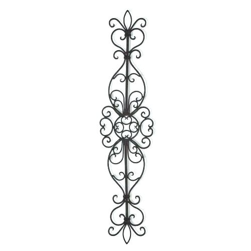 Useful Metal Scroll Wall Decor M2748189 Vertical Wall Decor Round Regarding Vertical Metal Wall Art (Image 13 of 25)
