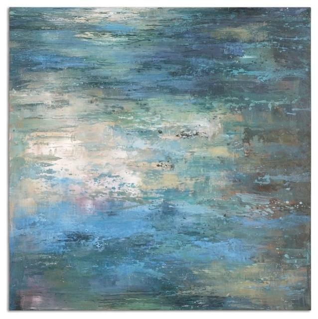 "Uttermost Splish Splash 40"" Canvas Wall Art – Transitional – Prints Pertaining To Uttermost Wall Art (Image 16 of 25)"