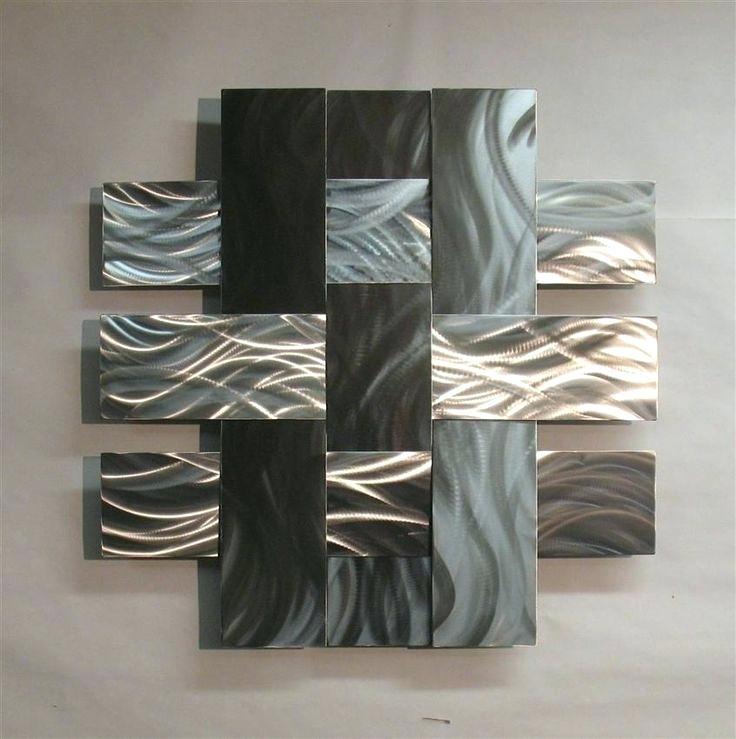Vertical Metal Wall Art Best Contemporary Metal Wall Art Ideas On Pertaining To Vertical Metal Wall Art (Image 14 of 25)
