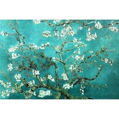 Vincent Van Gogh Turquoise Almond Branches In Bloom, San Remy Art In Turquoise Wall Art (Image 18 of 20)
