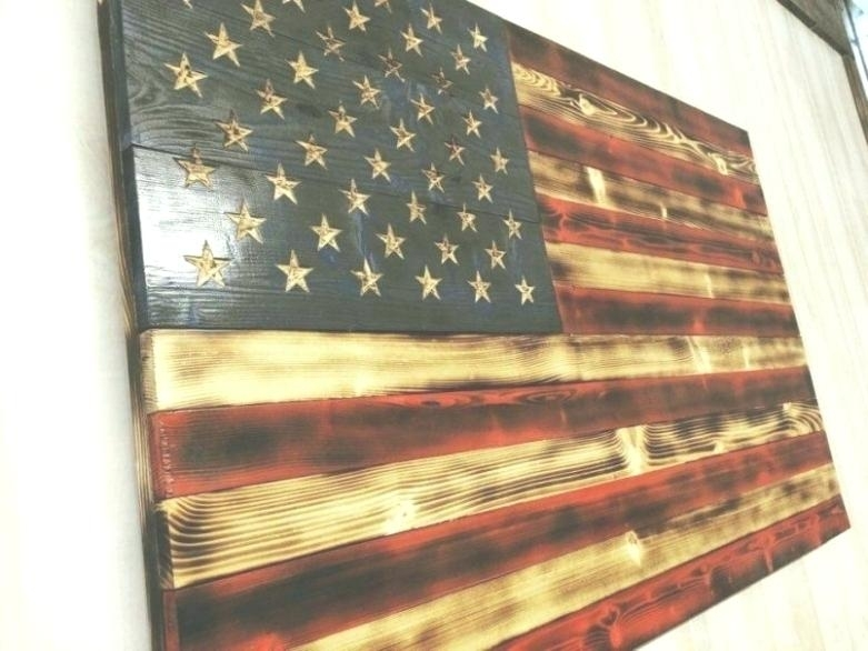 Vintage American Flag Wall Art Designs American Flag Wall Art Uk With Vintage American Flag Wall Art (View 21 of 25)