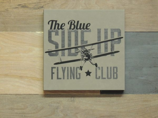 Vintage Aviation Wall Art, Blue Side Up Flying Club Within Aviation Wall Art (View 16 of 25)