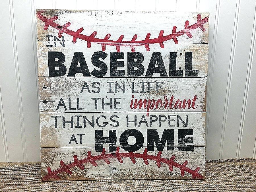 Vintage Baseball Canvas Wall Art Paper Canvas Art Prints At Kirkland Regarding Baseball Wall Art (Image 23 of 25)
