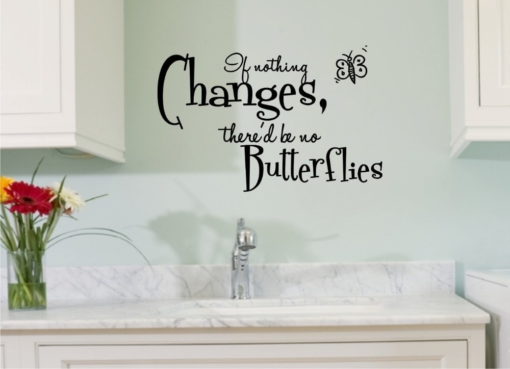 Vinyl Wall Art Inspirational Quotes Wall Decal Diy Decoration Wall Regarding Wall Art Quotes (Photo 10 of 20)