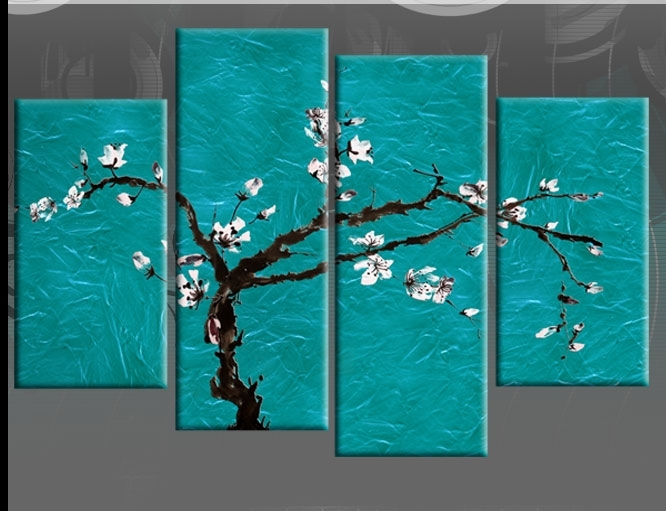 Wall Art And Canvas Prints | Wallartideas In Turquoise Wall Art (Image 19 of 20)
