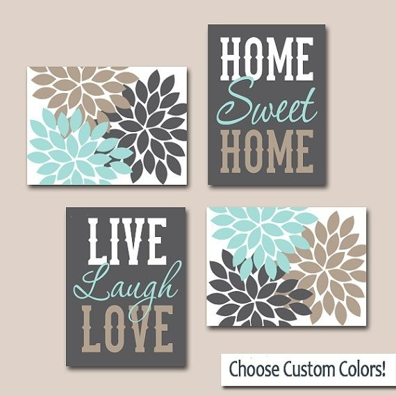 Wall Art Canvas Or Prints, Live Laugh Love Art, Home Sweet Home With Live Laugh Love Wall Art (View 16 of 25)