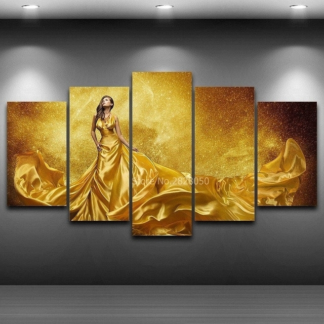 Wall Art Canvas Prints Wall Picture Painting Panels Home Decoration Intended For Long Canvas Wall Art (View 6 of 25)