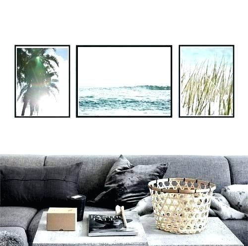 Wall Art Coastal Large Coastal Wall Art Coastal Wall Art Prints Set Regarding Large Coastal Wall Art (Image 20 of 20)