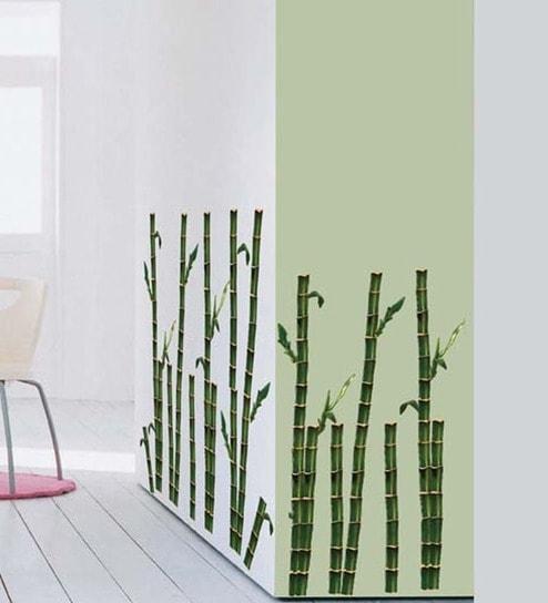 Wall Art Decor Bamboo Wall Stickerwall Art Decor Online inside Bamboo Wall Art