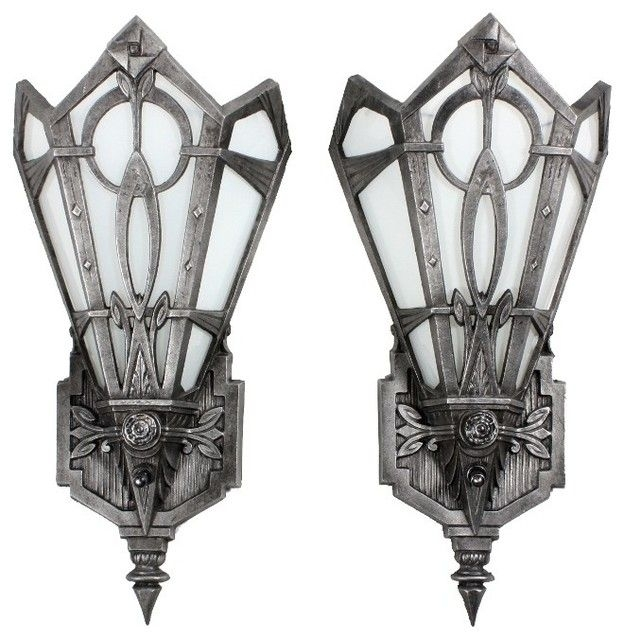 Wall Art Designs, Art Deco Wall Sconces Antique Art Deco Lighting Intended For Art Deco Wall Sconces (Image 25 of 25)