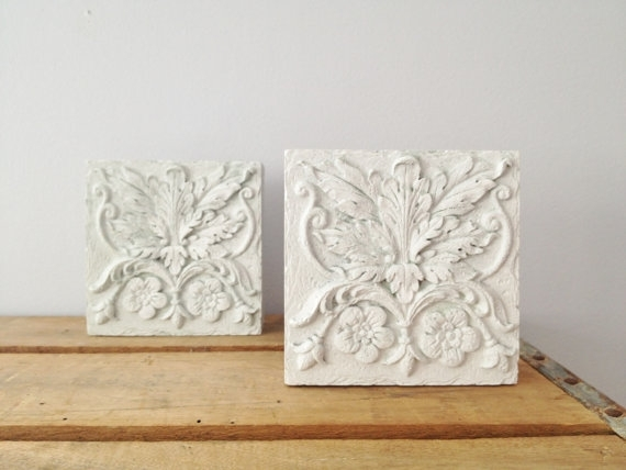 Wall Art Designs: Cool All Hanging White Wall Art Decor Sculptures For White Wall Art (Image 14 of 20)