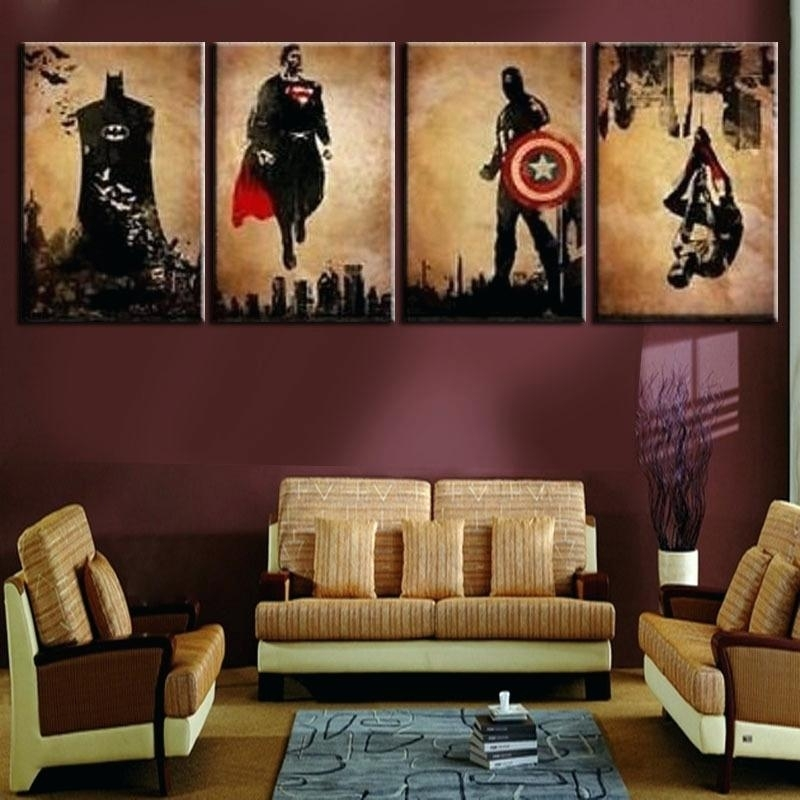 Wall Art For Men Living Room Wall Decor Pleasing Living Room Art In Wall Art At Walmart (View 13 of 20)