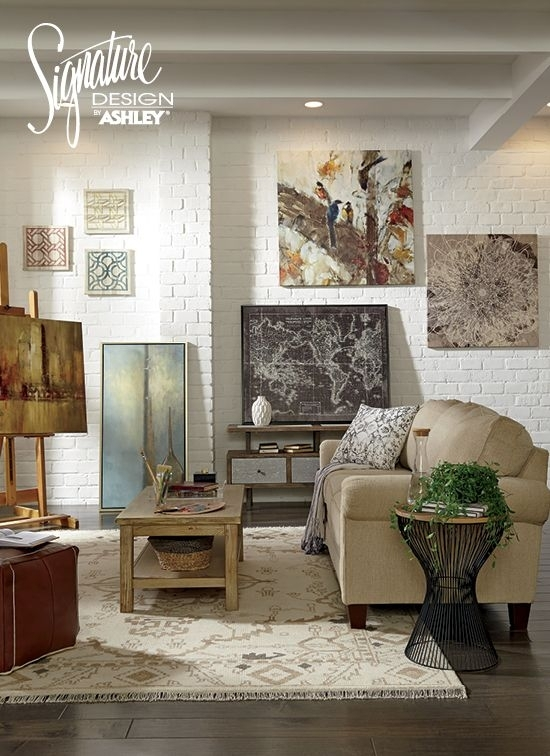 Wall Art – Home Accessories – Ashley Furniture – #ashleyfurniture In Ashley Furniture Wall Art (View 3 of 10)