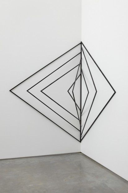 Wall Art Ideas Design : Inspirational Black Geometric Wall Art Lines With Regard To Geometric Metal Wall Art (View 20 of 25)