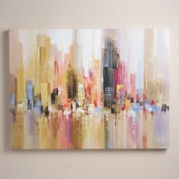 Wall Art – Modern Paintings, Maps, Kitchen Art | World Market | Art In World Market Wall Art (Image 20 of 25)