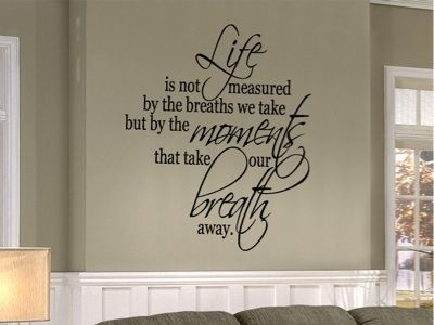 Wall Art Sayings Quotes | Decorating Your Room With Vinyl Wall In Wall Art Sayings (Image 14 of 25)