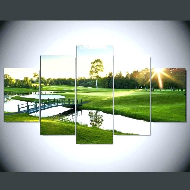 Wall Arts: Golf Wall Art. Golf Course Wall Art (View 7 of 25)