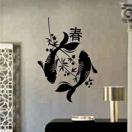 Wall Decal Quotes: Japanese Wall Art  Cool Japanese Inspired Wall Pertaining To Japanese Wall Art (Image 20 of 20)